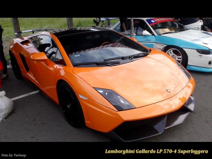 Lamborghini Gallardo LP 570-4 Superleggera 橘色車身